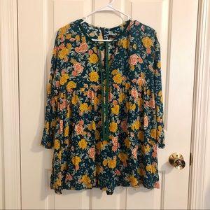 Floral babydoll romper/dress